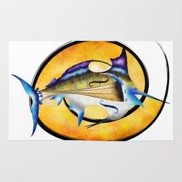 Marlinissos V1 - violinfish Rug