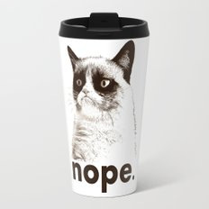 GRUMPY CAT - Nope (version 2) Travel Mug