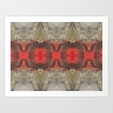 In the Red Art Print