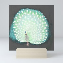 The tail that blinds. Mini Art Print