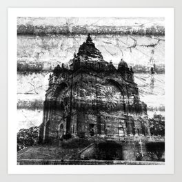 Basilica of Santa Luzia Art Print