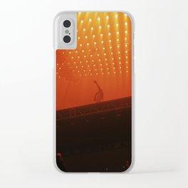 Under Orange Clear iPhone Case
