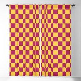 Checkered Pattern VII Blackout Curtain