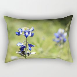 Last of the Bluebonnets Rectangular Pillow
