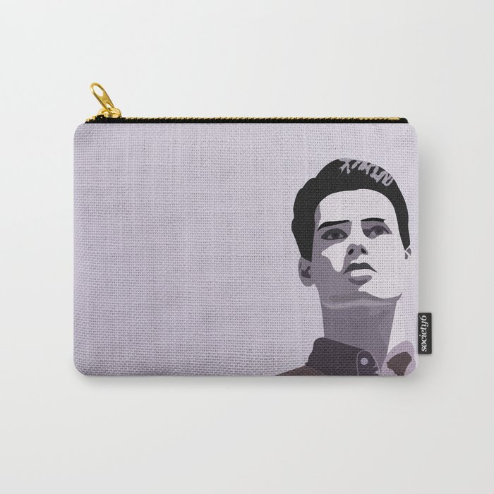 Model Man A (Purple Hue) Carry-All Pouch