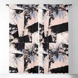 Beige et bois Blackout Curtain