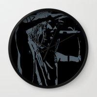 jared leto Wall Clocks featuring Jared Leto (gig) by idontfindyouthatinteresting