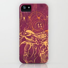 El Briguento - The Fighter (Golden) iPhone Case