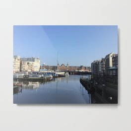 Amsterdam Centraal Metal Print