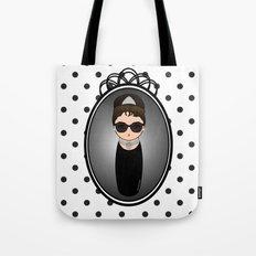 Kokeshi Audrey Hepburn Tote Bag
