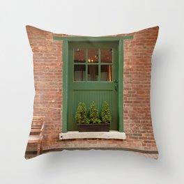 On Your Doorstep Throw Pillow