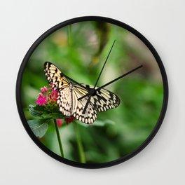 Butterfly joy Wall Clock