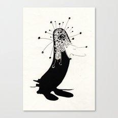 magic penguin Canvas Print