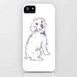 Curly Sam Dog iPhone Case