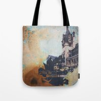 castlevania Tote Bags featuring Castlevania by Esco