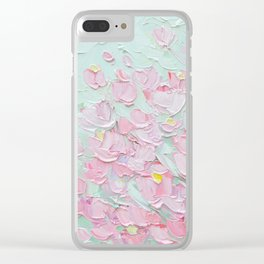 February Blossoms Clear iPhone Case