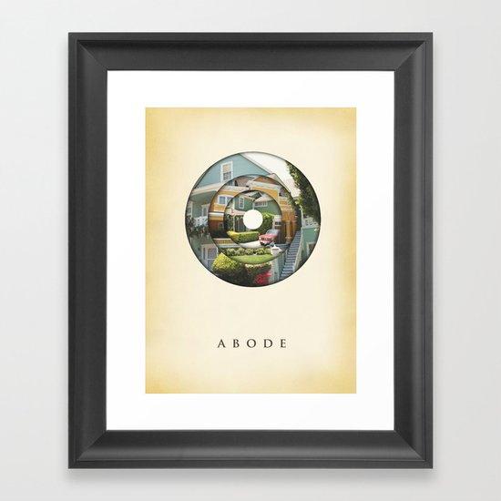 abode Framed Art Print