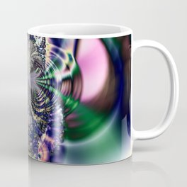 Fractal Owl Coffee Mug