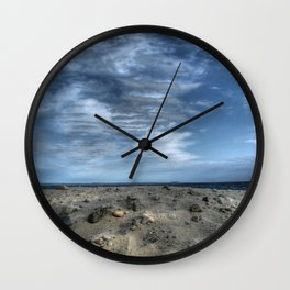 Hubbards Beach Nova Scotia Wall Clock