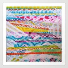 Abstract Heart Art Print
