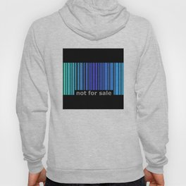 Not For Sale Barcode - Blues Hoody