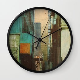 ESCAPE ROUTE Wall Clock