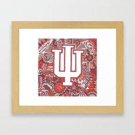 Indiana University for Kimberly Framed Art Print