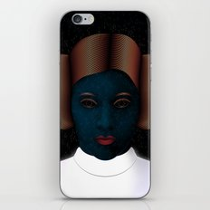 Princess Leia Art - Tribute to Carrie Fisher iPhone & iPod Skin