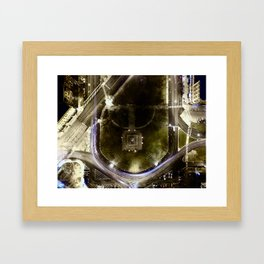 The Square of Logan Is Actually Not A Square Framed Art Print