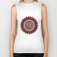 ethnic Biker Tanks featuring Ethnic by Iris López