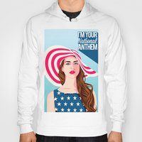 the national Hoodies featuring National Anthem by Stan Pro