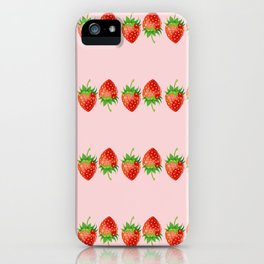 Strawberries 2 iPhone Case