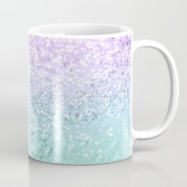 Mermaid Girls Glitter #1a (2019 Pastel Version) #shiny #decor #art #society6 Coffee Mug