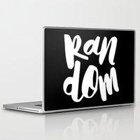 random Laptop & iPad Skins featuring Random by Word Quirk