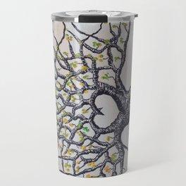 Fall Colorado Love Tree Art Travel Mug