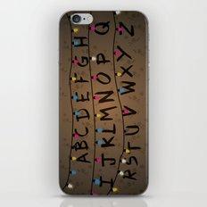 Stranger things ABC iPhone & iPod Skin