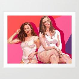 I am More Than (Rosalind & Morgan) Art Print