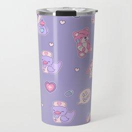 Nurse Ducks - Menhera Design Travel Mug