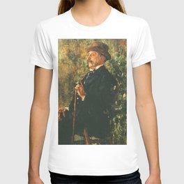 Antonio Mancini - Portrait of John Lowell Gardner T-shirt