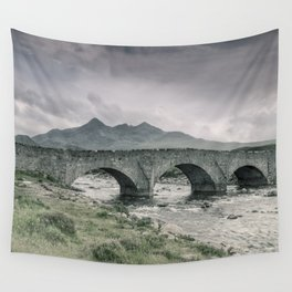 The Bridge and the Cuillin Wall Tapestry
