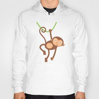 arctic monkeys Hoodies featuring Monkeys by olillia