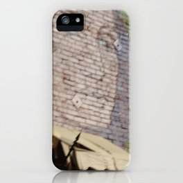 Paint Brick Face iPhone Case
