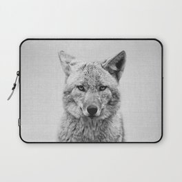Coyote - Black & White Laptop Sleeve
