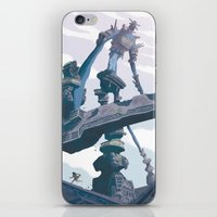 shadow of the colossus iPhone & iPod Skins featuring Shadow of the Colossus  by Felo