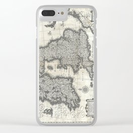 Map of the British Isles - 1631 Clear iPhone Case