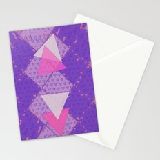 Triangular Love Stationery Cards
