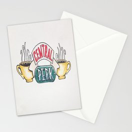 Central Perk Stationery Cards