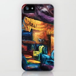 """Opus"" Painting (Reworked, Final Version) iPhone Case"