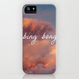 bing bong iPhone Case