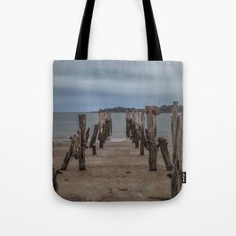 West beach a low tide Tote Bag